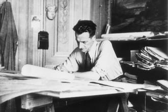michelucci nello studio - anni 40