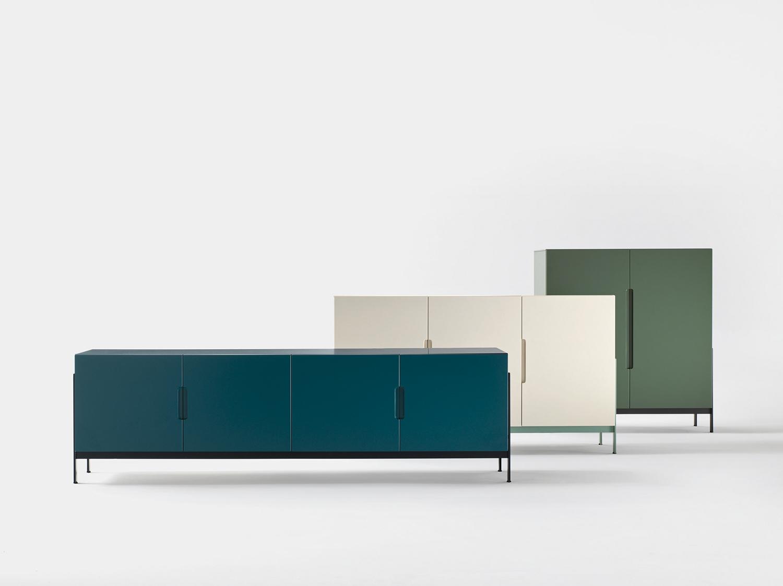 Tutti i colori di novamobili livingcorriere for Complementi di arredo soggiorno