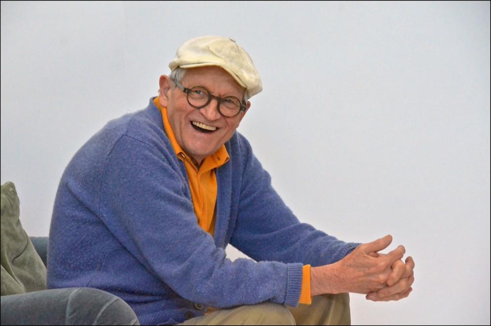 Portrait of David Hockney