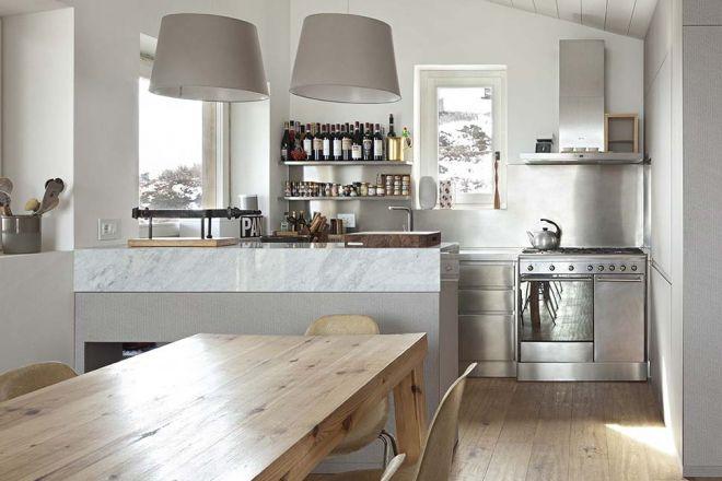 Cucine monoblocco o a scomparsa for Idee cucina living