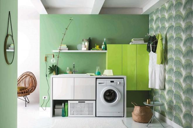 Camera Ospiti Per Vano Cucina : Lavanderia chic: 35 idee per organizzarla