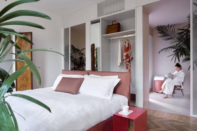 Design Hotel: Casa Flora a Venezia - Living Corriere