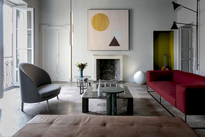 Mobili Per La Casa Milano : La casa di gabriele salvatori a milano living corriere