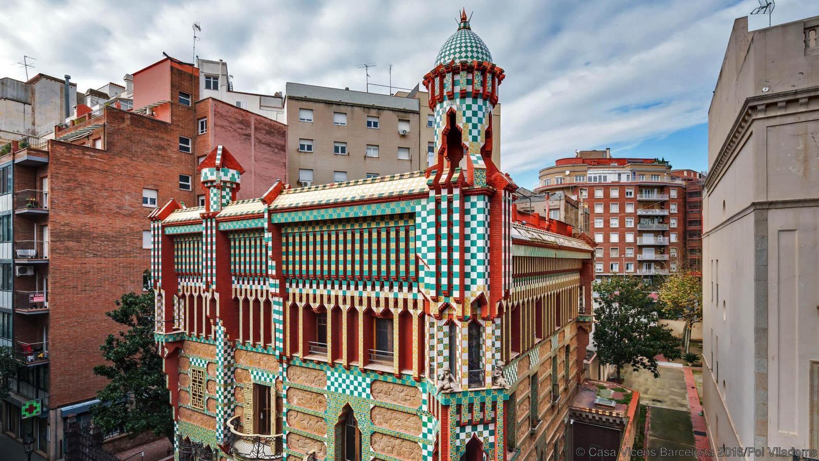 Barcellona apre casa vicens di gaud living corriere - Casas de gaudi ...