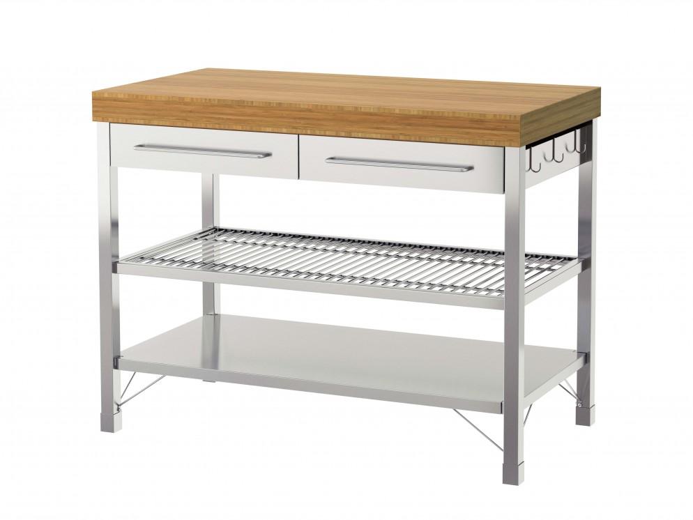 Tavoli Da Lavoro Cucina Ikea.La Scelta Della Mini Cucina Foto 1 Livingcorriere