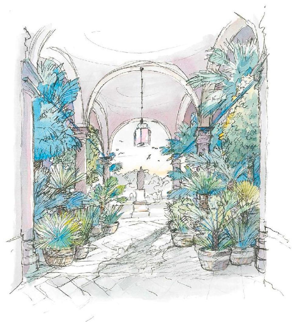 2.-Acquarello-light---Palazzo-Dugnani