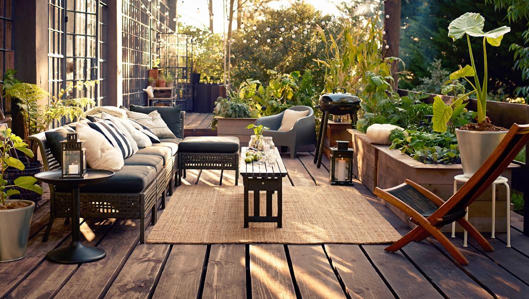 10 regole per un terrazzo perfetto living corriere for Arredo terrazzo ikea