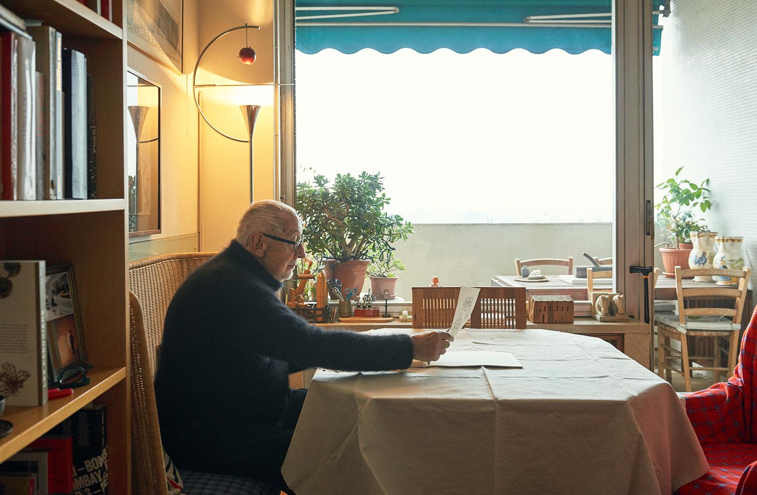 A casa di alessandro mendini foto living corriere for Corriere casa