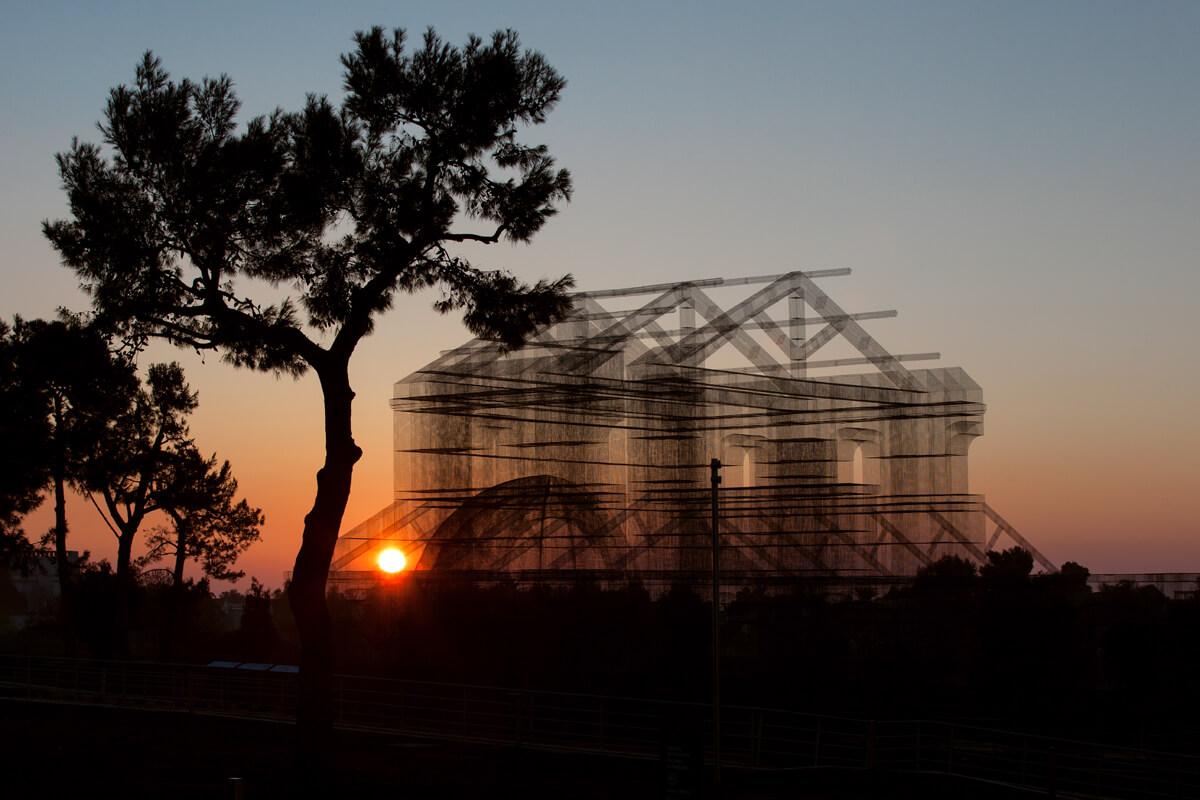 Le cattedrali metalliche di Edoardo Tresoldi - Foto
