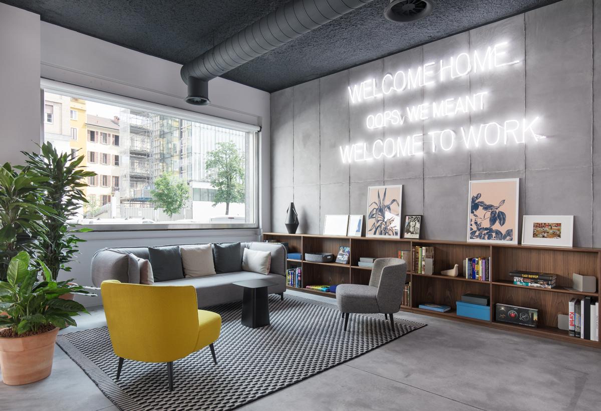 Spaces Milano il nuovo coworking di Porta Nuova - Living ...