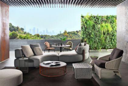 Arredo giardino e terrazzo idee e mobili per esterni living for Mobili per il terrazzo