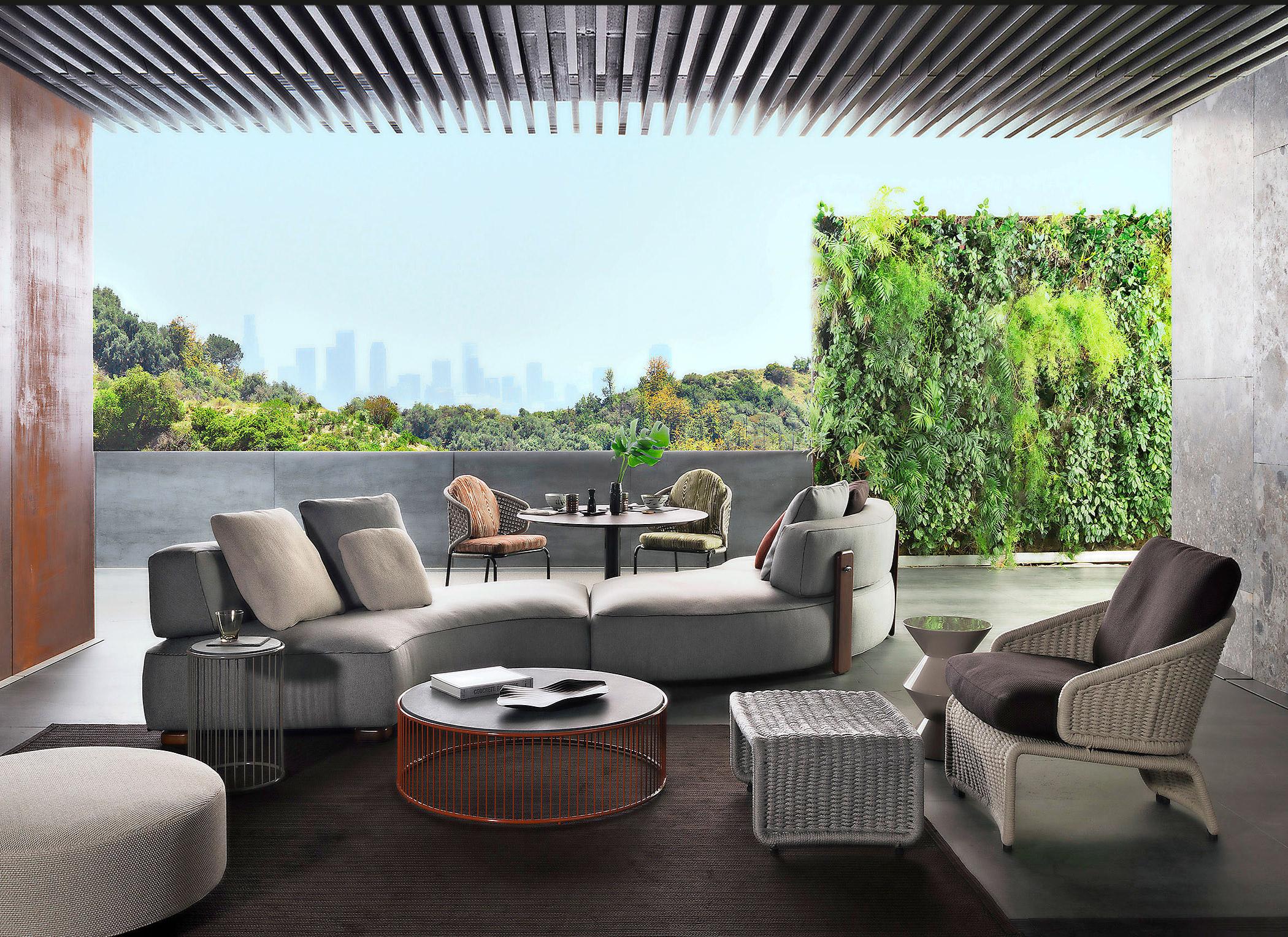 35 idee per arredare il giardino livingcorriere for Mobili giardino terrazzo