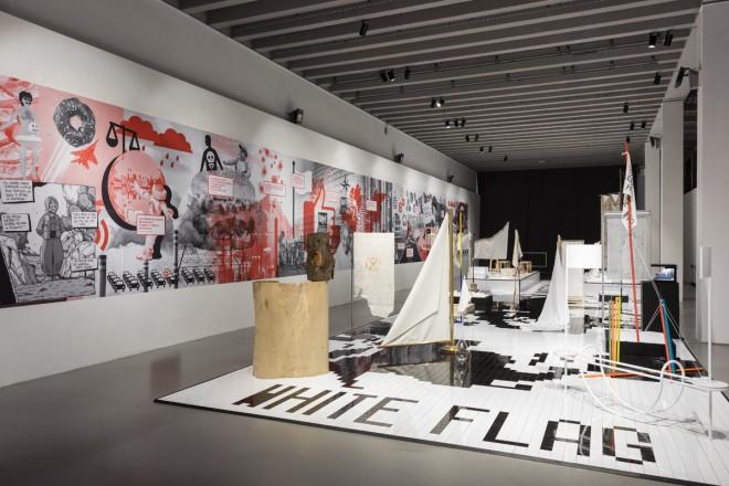 La mostra white flag alla triennale di milano living - Mostra design milano ...