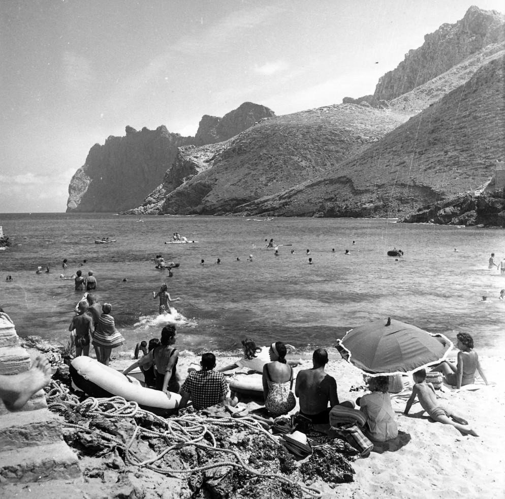 1960 Cala de San Vicente Mallorca