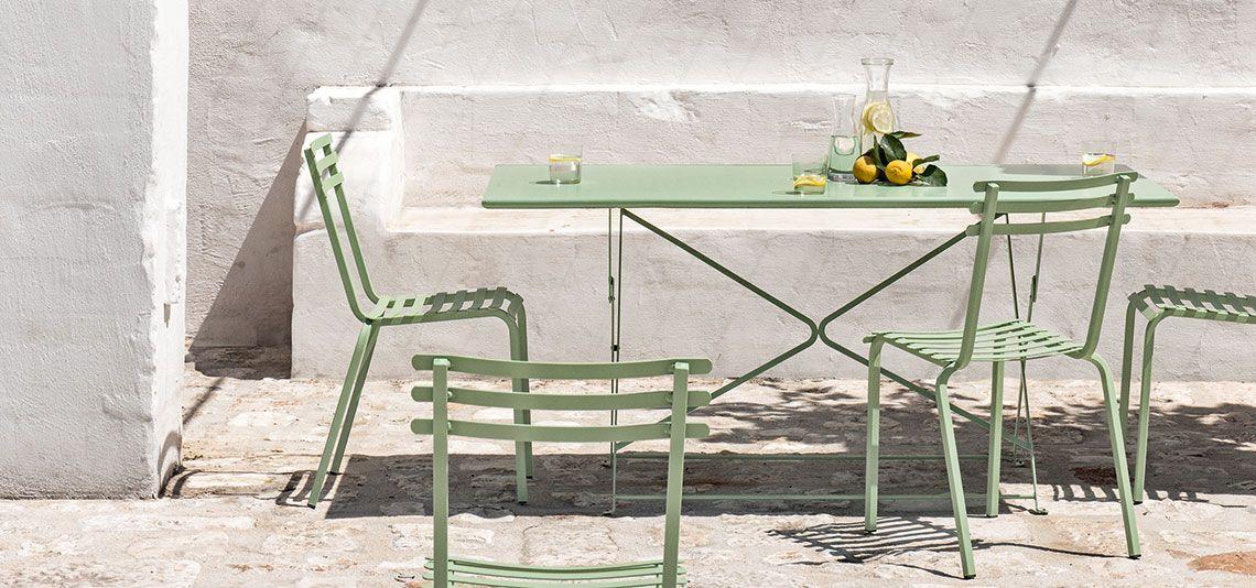 Tavolo Consolle Con Sedie Pieghevoli.26 Tavoli Pieghevoli Salvaspazio E Di Design Living Corriere