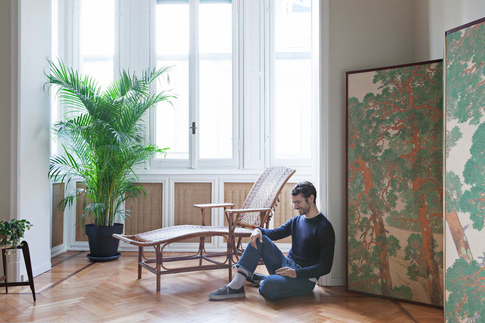 A milano l appartamento anni 30 di dario vitale living for Appartamento new design roma lorenz