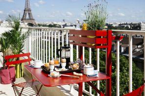 Il balcone perfetto in poco spazio