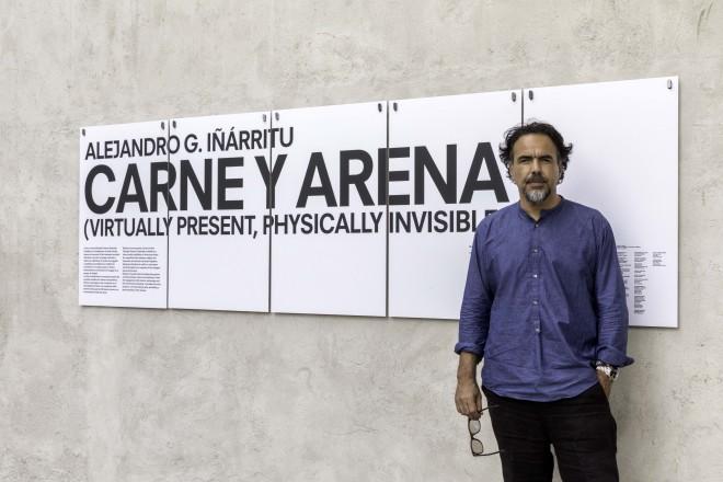 3_Alejandro G. Inarritu_Fondazione Prada_June 2017_Photo Ugo Dalla Porta_2