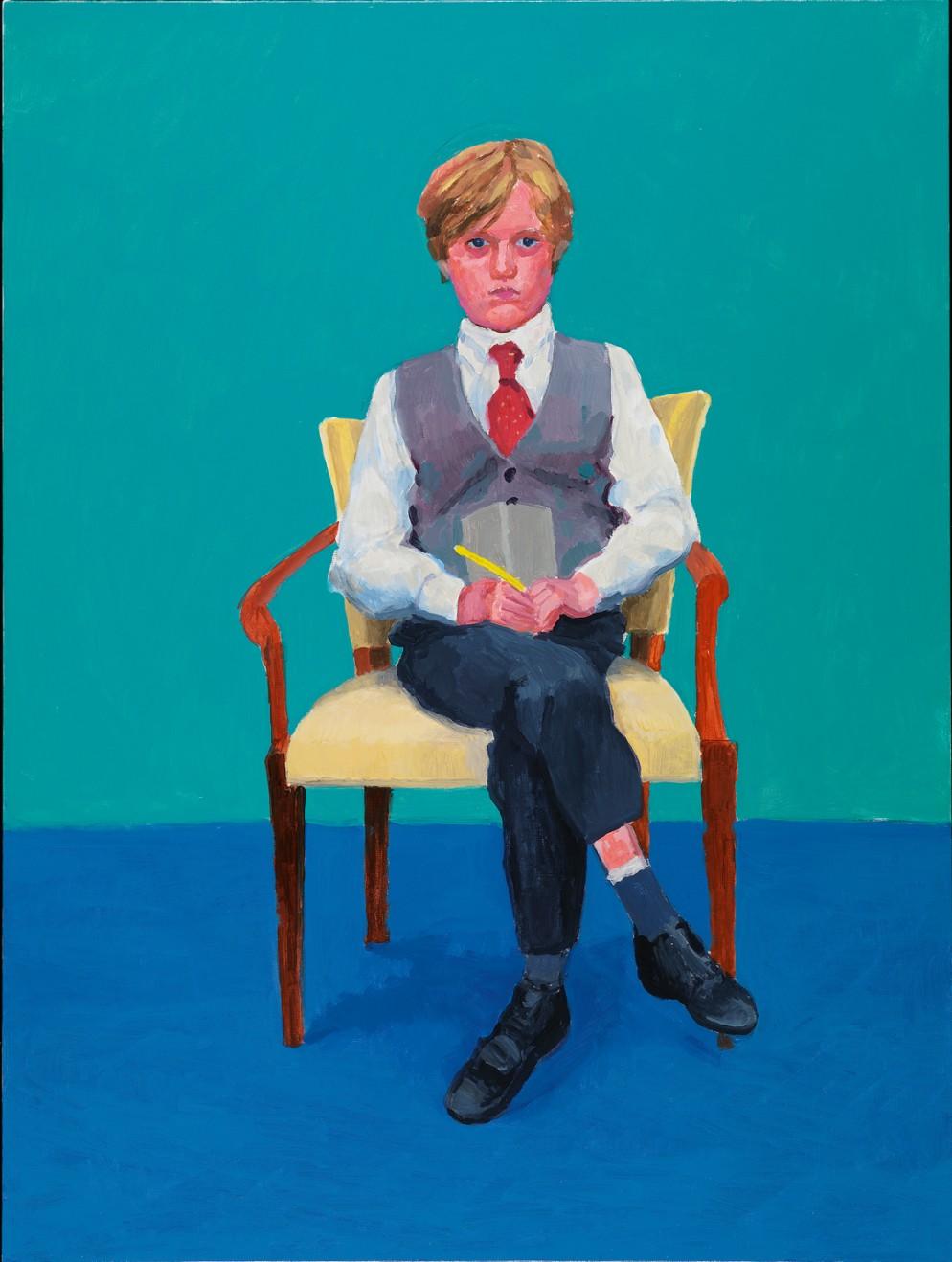 "David Hockney""Rufus Hale, 23-25 November"" 2015Acrylic on canvas48 x 36""© David HockneyPhoto Credit: Richard Schmidt"
