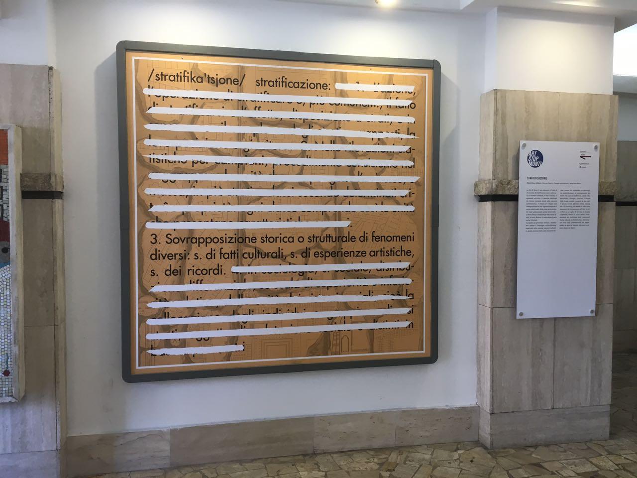 Massimiliano Cafagna, Vincenzo Guarini, Pasquale Iconantonio  e Sebastiano Marini - stratificazione 1_giugno_luglio