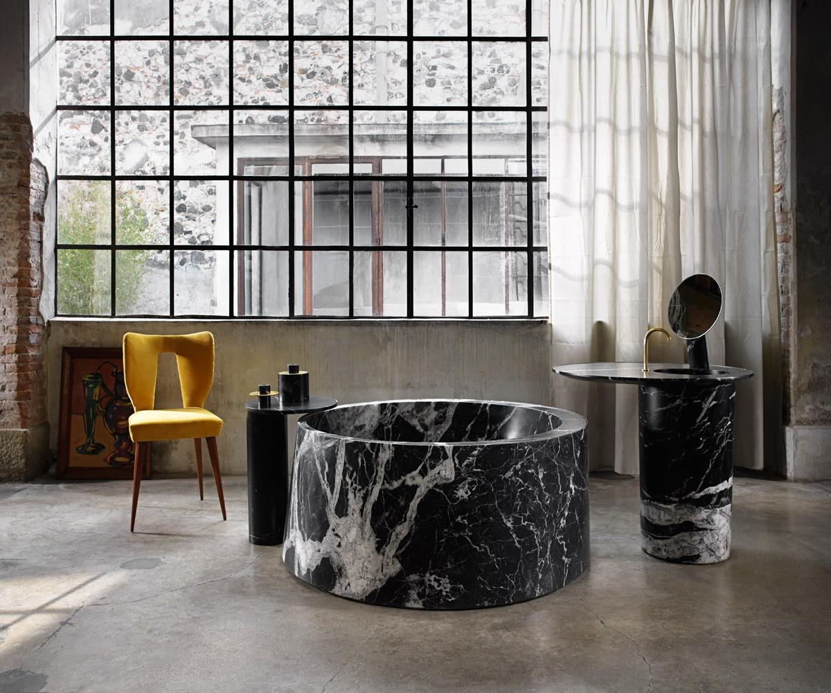 arredo bagno: mobili, box doccia, idee per arredare il bagno - living - Arredo Bagno In Marmo
