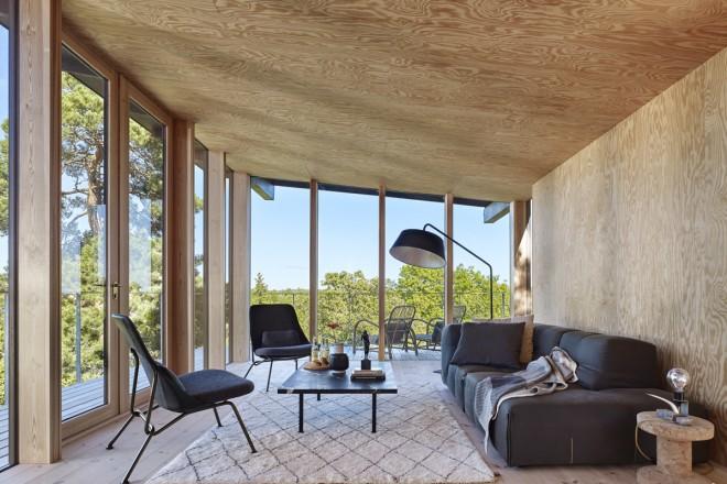 La casa vacanze in stile nordico di andreas martin l f for Corriere casa
