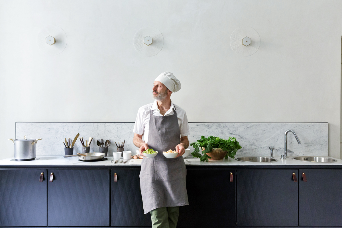 Cucina In Pino Russo : Designer in cucina: pietro russo u2013 living corriere
