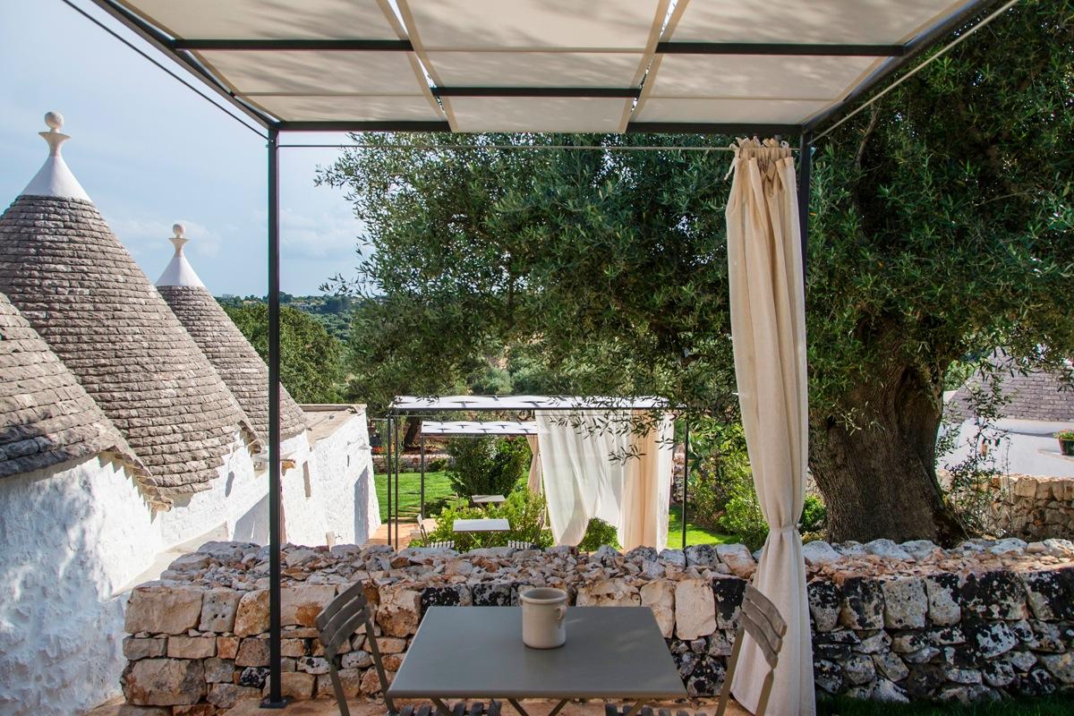 Vacanze nei trulli di borgo canonica in puglia living for Arredare un trullo
