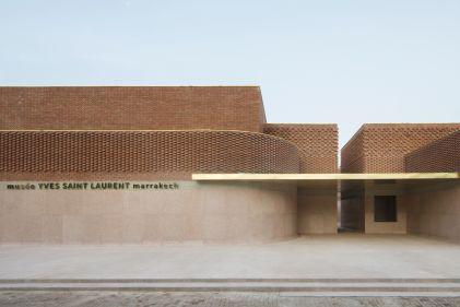 Museo YSL Marrakech_facciata_KO