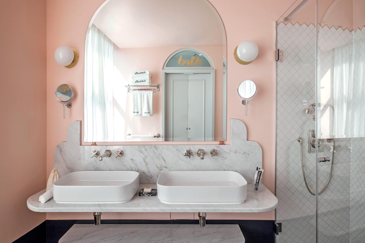 Idee Colori Pareti Bagno 18 idee colore per la stanza da bagno - living corriere