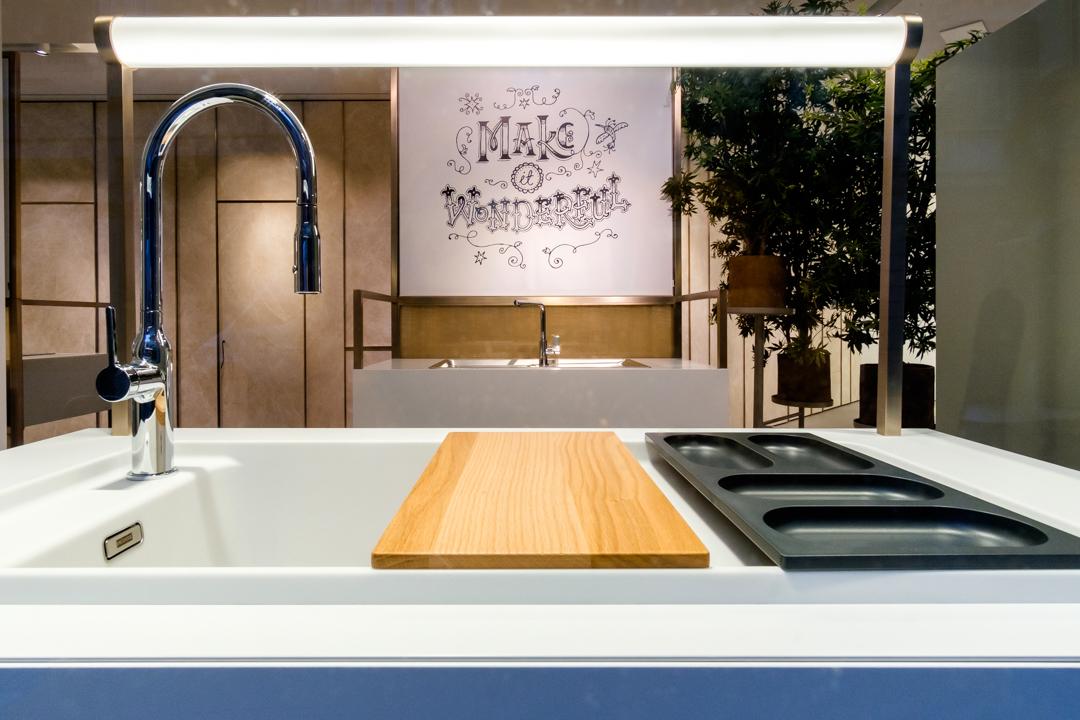 Franke apre a milano il nuovo store firmato carlo colombo livingcorriere - Franke showroom ...