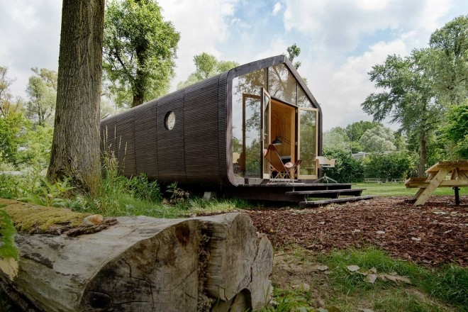 Wikkelhouse la casa prefabbricata di cartone livingcorriere - Casa di cartone ...