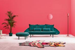 Il velluto sul divano