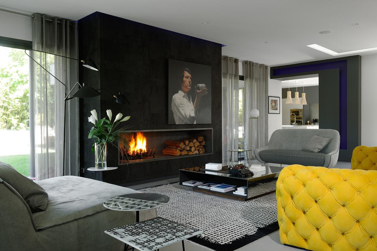 Living arredamento casa design e lifestyle corriere for Living con camino