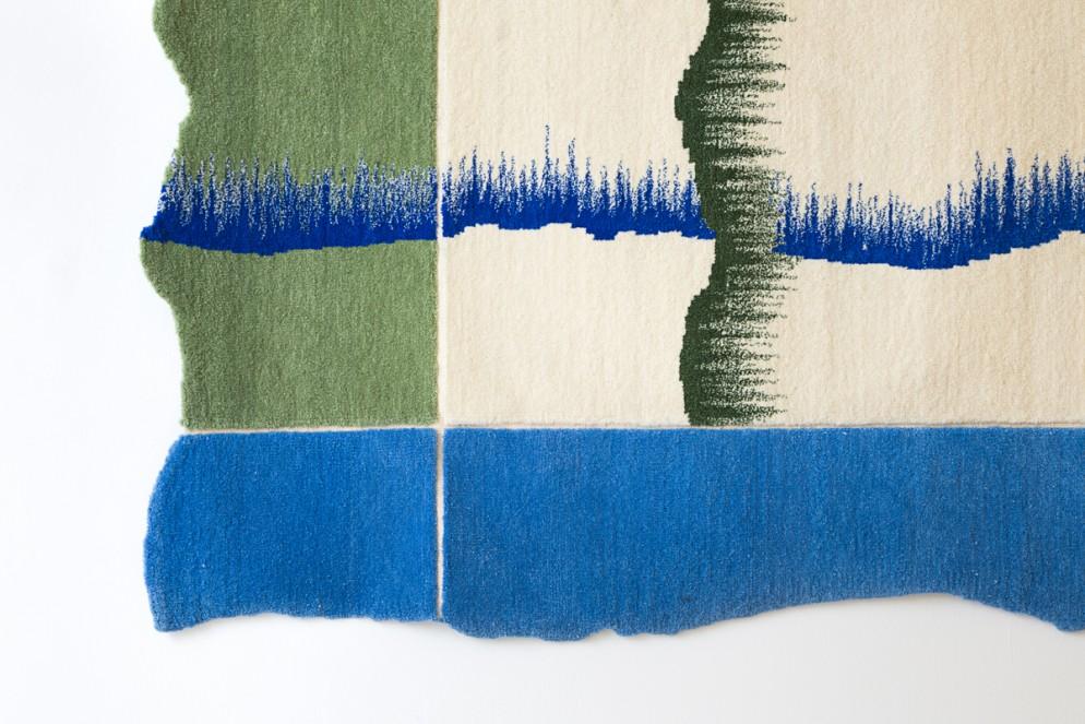 GREAT DESIGN Gallery_Tapis 1_2_3_4 detail_Karol Pichler_copyright Yann Audino_ 2016