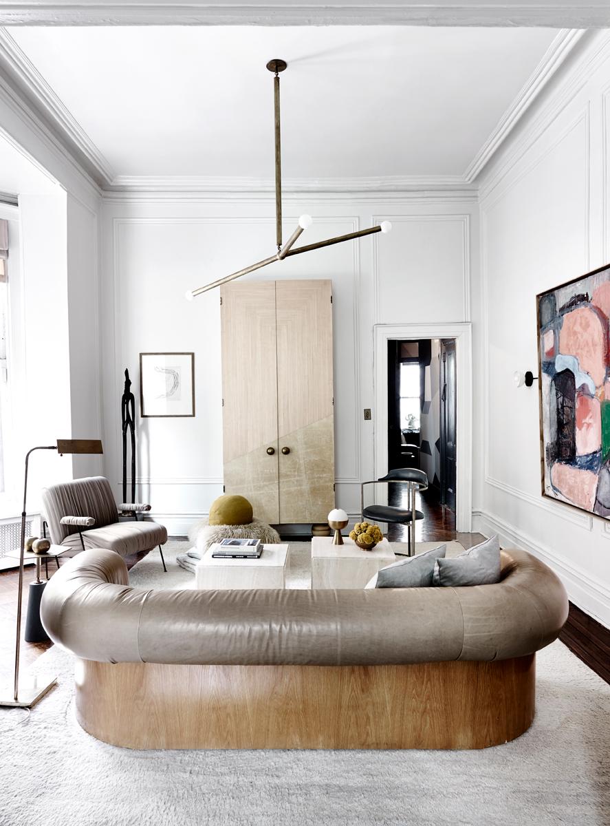 La casa di brooklyn dei designer apparatus foto living for Corriere casa