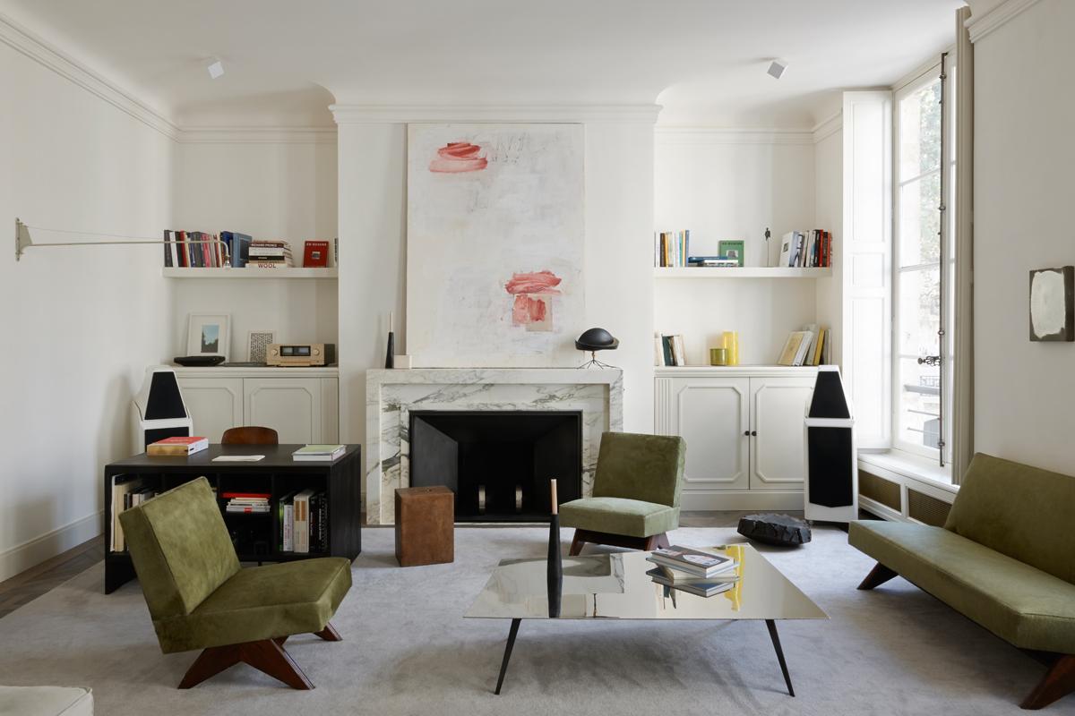 Gli interni di joseph dirand living corriere for Interni parigini
