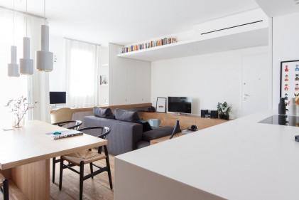 Arredamento d 39 interni le ispirazioni dalle case di design for Casa moderna total white