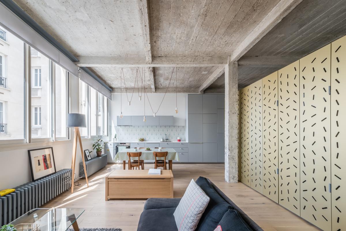 Come Arredare Una Cameretta Rettangolare come creare una stanza dentro un open space – living corriere
