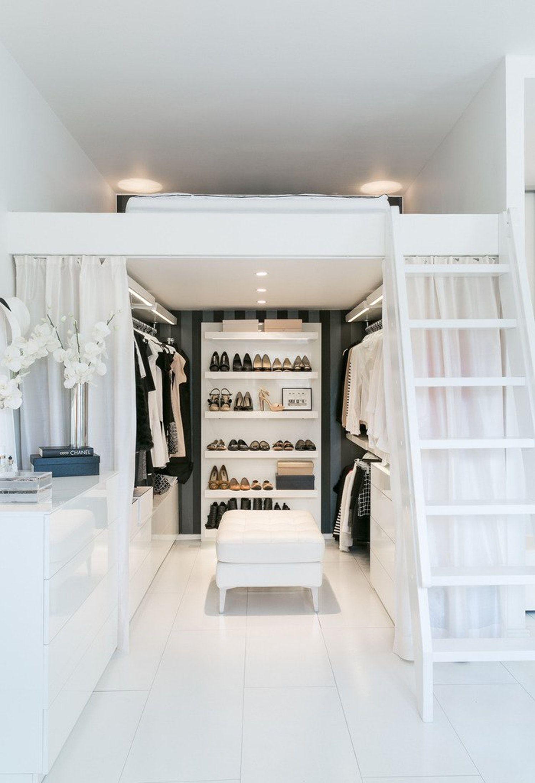 Letto Soppalco Con Armadio Sotto.Letto A Soppalco 21 Idee Per Un Appartamento Moderno Livingcorriere