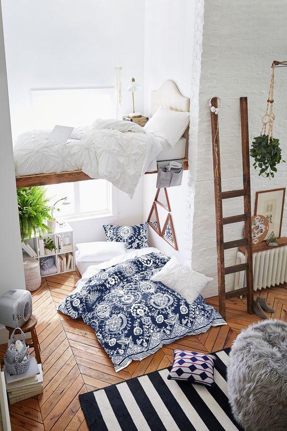 Letto a soppalco: 21 idee per un appartamento moderno ...