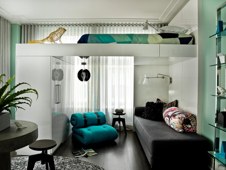 Letto a soppalco 21 idee per un appartamento moderno for Idee per arredare un trullo