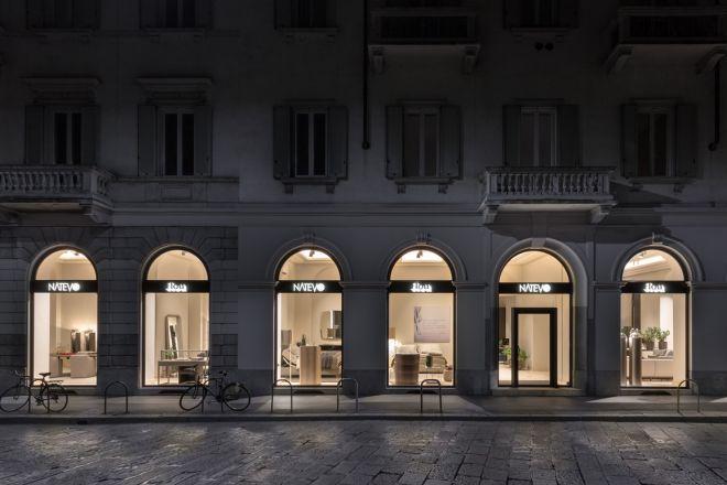 Il nuovo showroom natevo by flou a milano