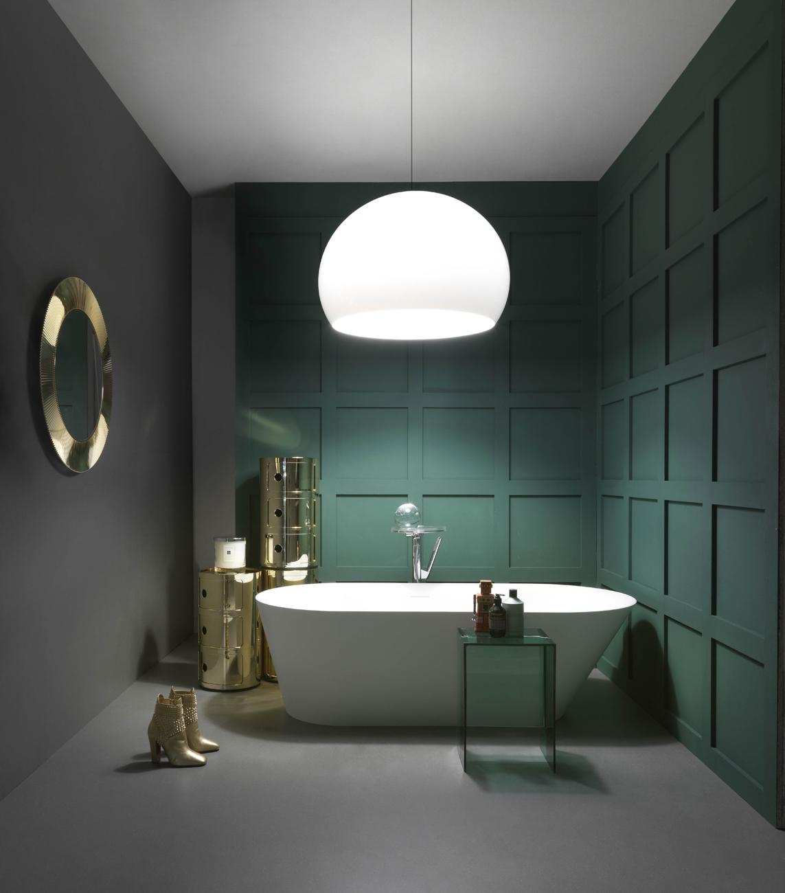 Come scegliere i colori di tendenza per arredare il bagno for Bagni di design 2016
