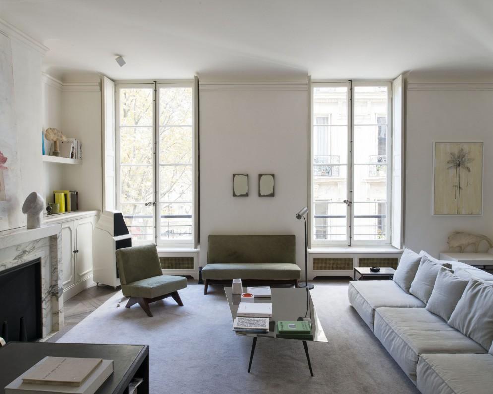 La casa di joseph dirand a parigi foto living corriere for Corriere casa