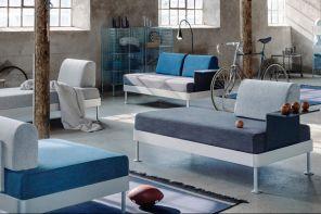Il divano trasformista di Tom Dixon