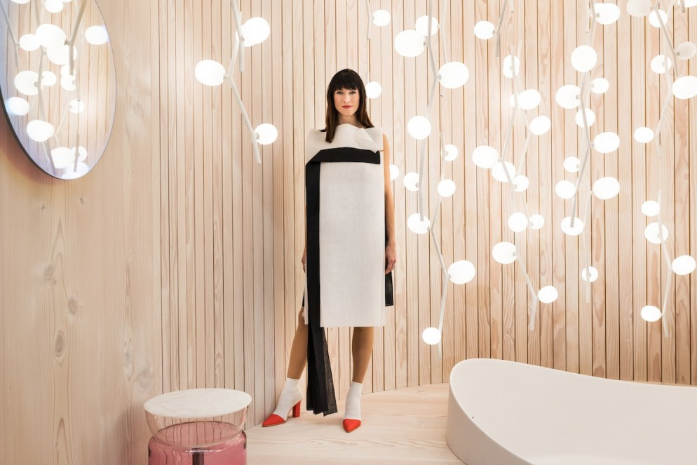 "DEU, Köln/Cologne, Koelnmesse, imm cologne 2018. Designer of ""Das Haus 2018"" Lucie Koldova. imm cologne 2018."
