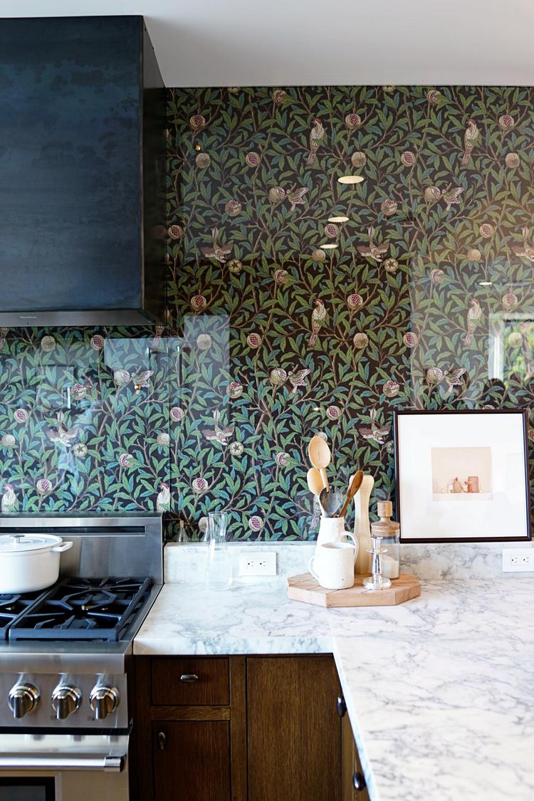 Backsplash: come proteggere la parete della cucina - Foto ...