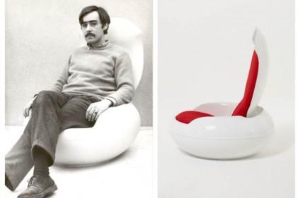 Peter-Ghyczy-in-his-Garden-Egg-Chair-in-1969-Garden-Egg-Chair-by-Peter-Ghyczy-1968