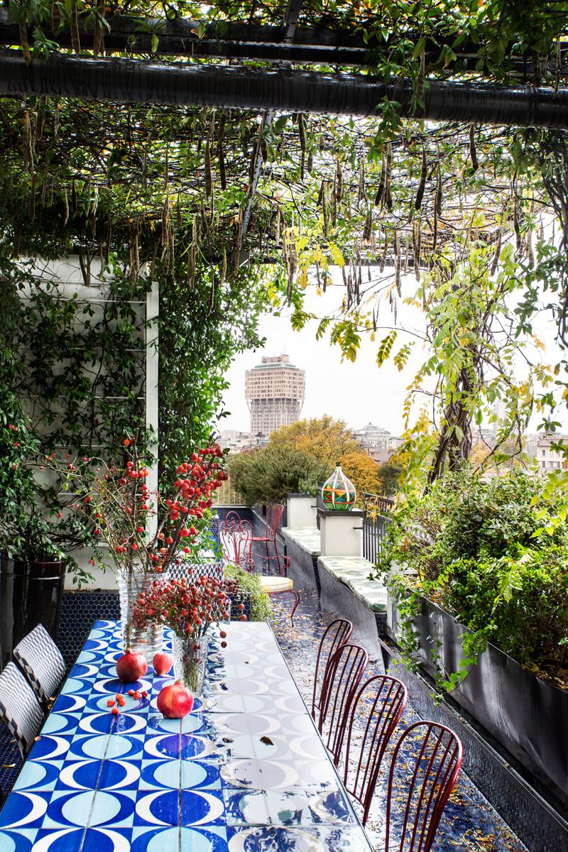 A casa della giornalista e trendsetter jj martin foto for Casa corriere